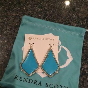 Kendra Scott Turquoise Alexander Earrings